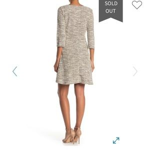 MAX STUDIO Woven Knit Dress, SIZE XL—SOLD OUT!